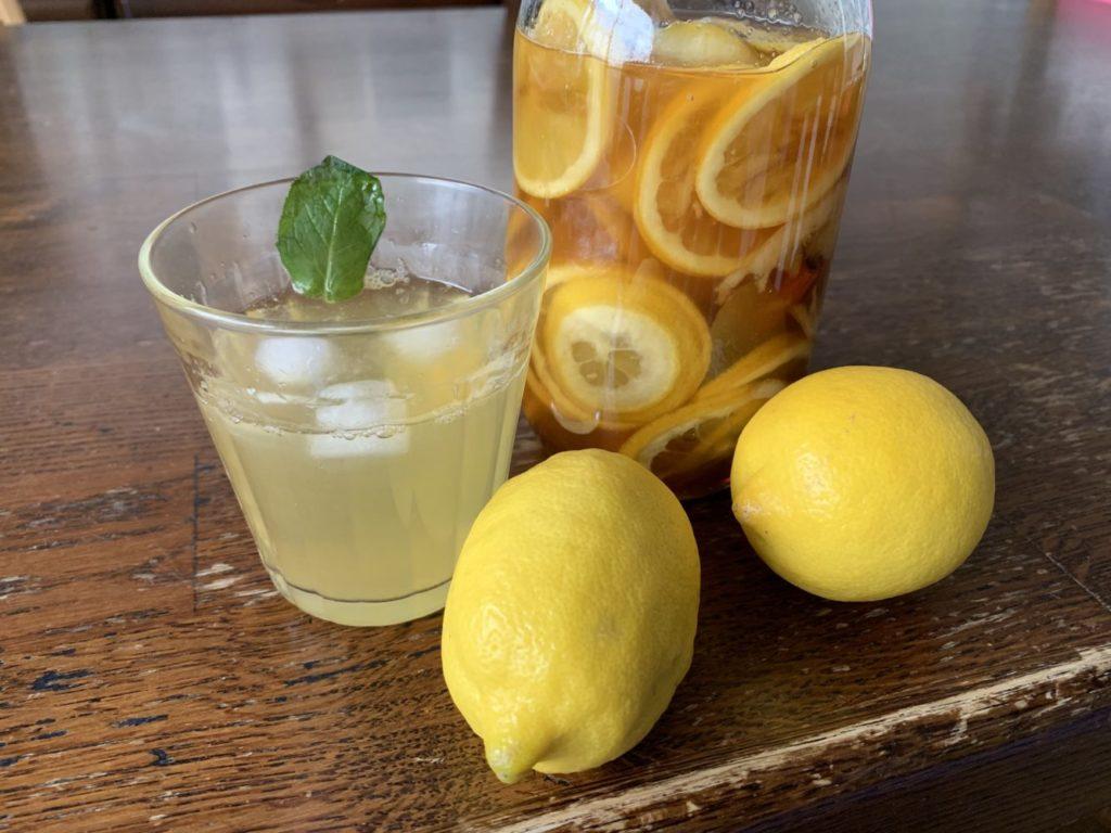 レモンスカッシュの作り方